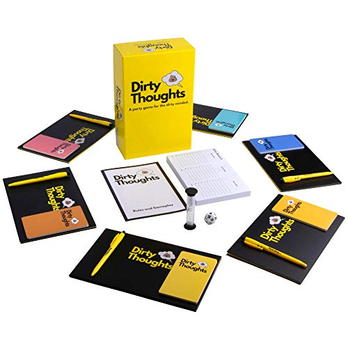 Dirty Thoughts - The Game of Dirty Categories, New Adult Party Games- Top Family Games for Teens and...