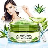 Mascarilla Puntos Negros Natural 100%, Mascarilla Facial Aloe, Mascarilla Exfoliante Facial para Hidratación, Limpieza Profunda para Mujeres y Hombres del Cuidado Facial