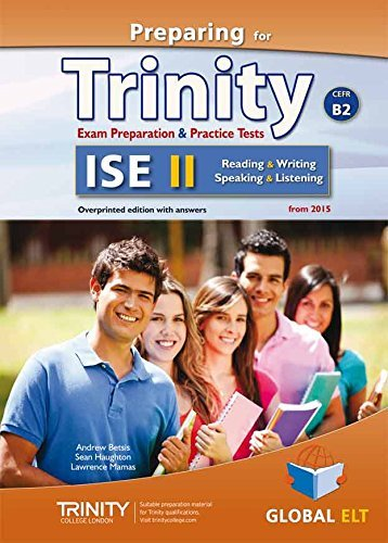 Preparing for Trinity. ISE B2. Student's book. With key. Per le Scuole superiori. Con audio formato MP3. Con e-book. Con espansione online