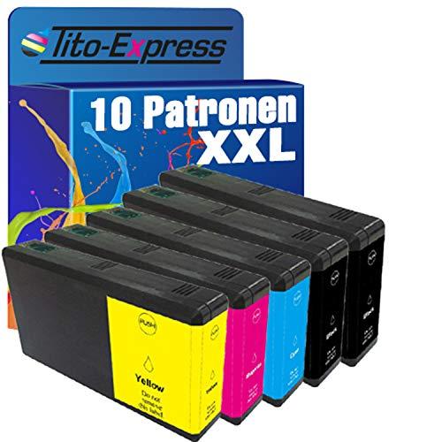 platinumserie–Juego de 10cartuchos de tinta XXL compatible con Epson te7891de te7894WorkForce Pro WF 5100Series 5110DW WF-5190DW 5600Series 5620DWF WF-5690DWF
