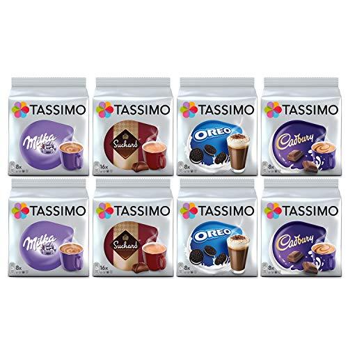 Paquete Tassimo Hot Choco - Vainas Cadbury, Oreo, Milka, Suc