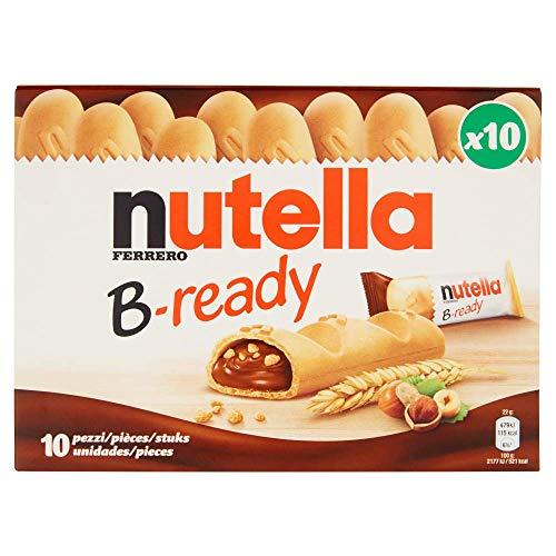 Nutella B - Ready, Confezione da 10 Pezzi