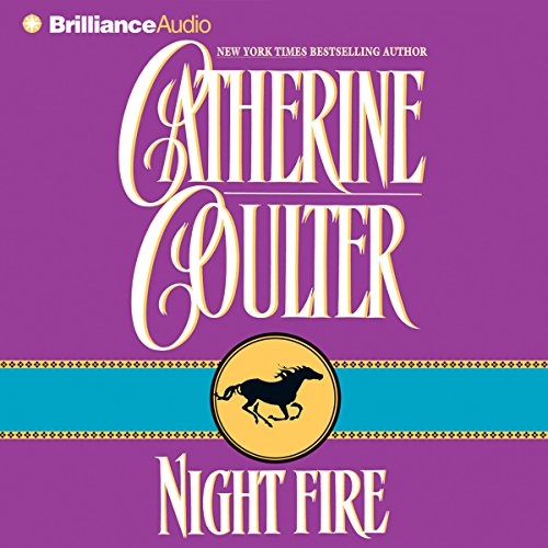 Night Fire audiobook cover art