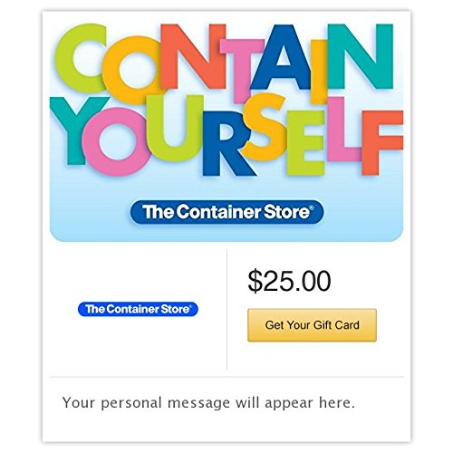 The Container Store Contain Yourself Gift Cards - E-mail Delivery - http://coolthings.us