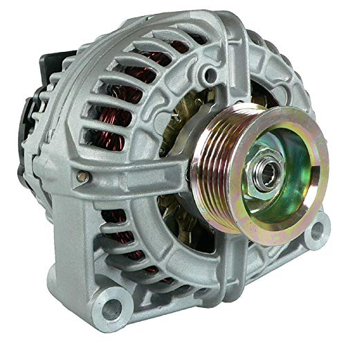 DB Electrical ABO0245 Alternator Compatible With/Replacement For 4.8L 5.3L 6.0L Chevy Silverado Pickup Truck Suburban Escalade 2005 2006 2007 0-124-525-072 0-124-525-104 10371020 15128978 15200269