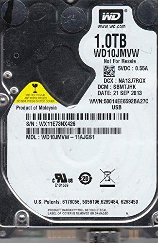 WD10JMVW-11AJGS1, DCM SBMTJHK, Western Digital 1TB USB 2.5 Disco Duro