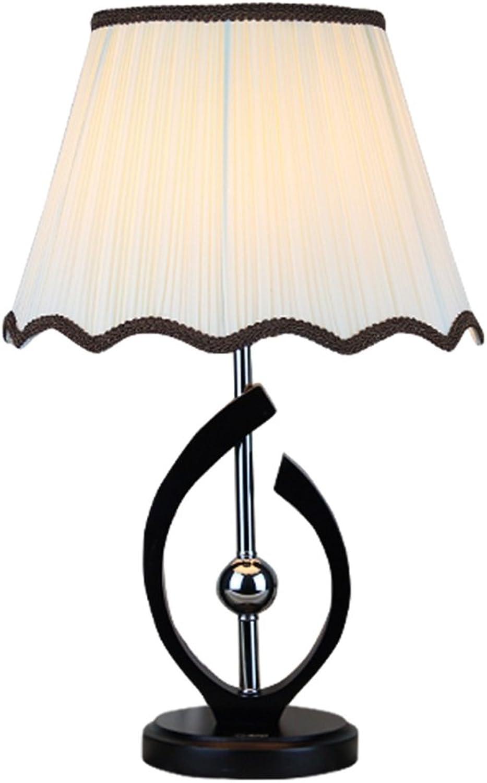 MIAOLIDP Moderne minimalistische Tischlampe Schlafzimmer Bedside Studie Mode warmen Holz amerikanischen Land Tischleuchte Augenschutz Tischlampe
