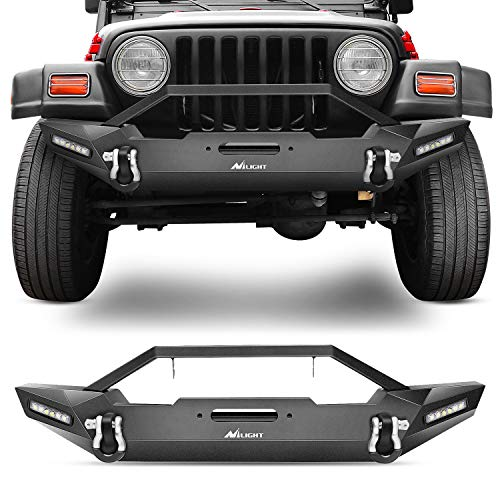 Nilight Front Bumper Compatible for 87-06...