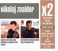X2 (Beethoven; Mendelssohn: Violin Conce