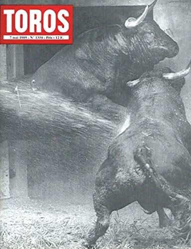 Toros n°1350 du 7 mai 1989. Genèse de la corrida moderne. USA Taurins (V). Les toreros romantiques. Féria de Sévilla.