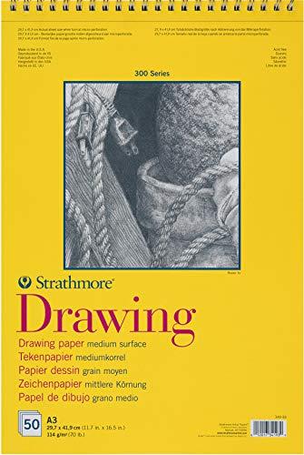 Strathmore Toned Gray Sketch Book 9X 12 Grigio 50 Fogli