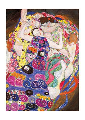 Spiffing Prints Gustav Klimt The Maiden - Small - Semi Gloss - Unframed