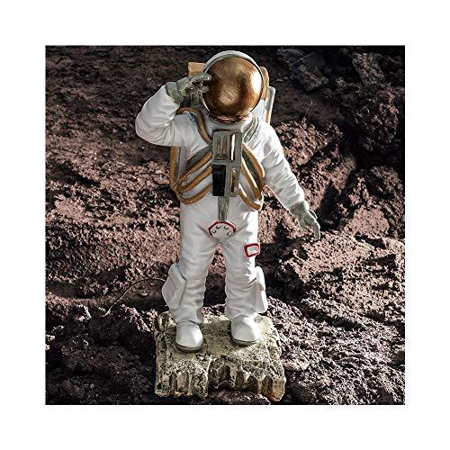 Decoración de perro de astronauta creativa nórdico, decoración suave para el hogar, decoración de planeta terrestre errante, regalo azul