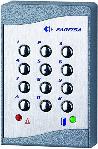 Farfisa 6/V rasante Balcom-CTC Seis Familias Casa Tradicional 4/ N cableado