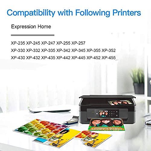 Cartuchos de tinta 29 29XL para Epson XP-255, XP-245, XP-247, XP-235, XP-352, XP-332, XP-442, XP-342, XP-257, XP-355 , XP-452, XP-455, XP-345, XP-445, XP-335 4 negro, 2 cian, magenta 2, 2 amarillo