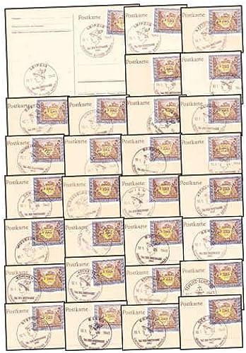 Goldhahn Deutsches Reich 25 Ersttagskarten Briefmarken für Sammler