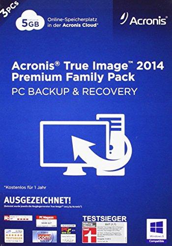 Acronis True Image 2014 Premium - 3PCs Family Pack