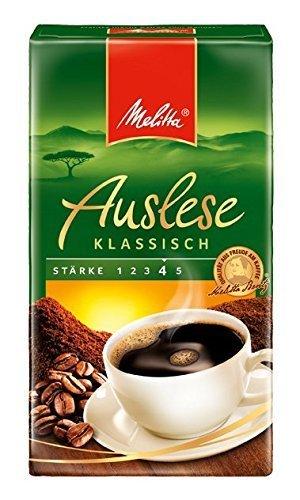 10er Pack (10 x 500 g Packung) Melitta Café Auslese klassisch
