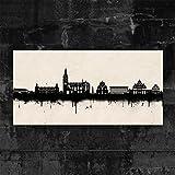 Kunstbruder Paderborn Skyline - Schwarz/Weiss (div.