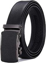 Fashion Belt Business professional belt Men's belt automatic buckle head frosted buckle belt Durable (Color : 07, Size : 120cm)