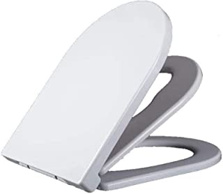 Universele U-Vorm Familie Toiletstoel Met Kleine Seat Drop Mute Top Gemonteerd Toilet Deksel Voor Volwassene, 43 ~ 48,5 * ...