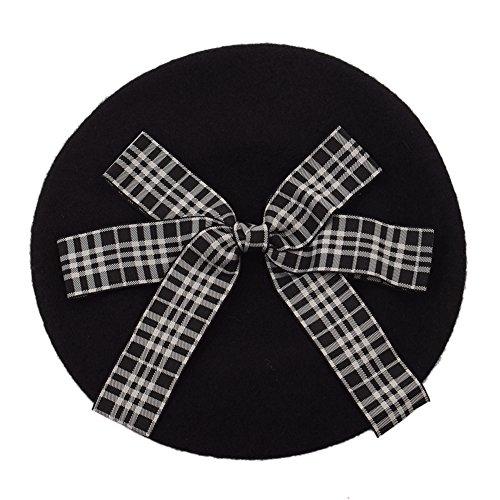 GRACEART Damen Wolle Baskenmützen Schirmmützen Lolita Barette Hüte Kappe