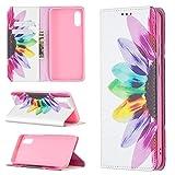 Sac de téléphone portable Pour Samsung Galaxy A02 / M02 Portefeuille en cuir PU de Premium PU, en...