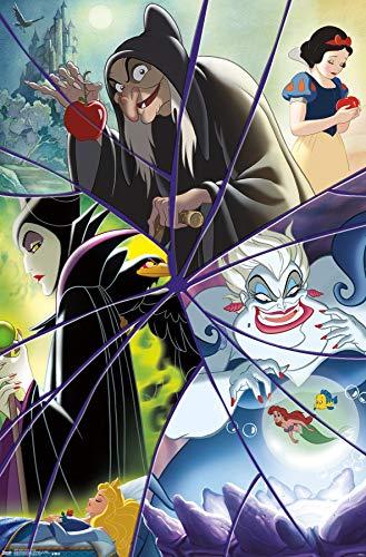 "Trends International Disney Villains - Collage Wall Poster, 22.375"" x 34"", Unframed Version"