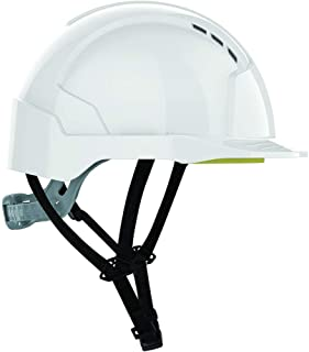 JSP AJC250-000-100 EVOLITE Linesman - Casco de trinquete, color blanco