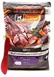 SIMPLY NOURISH Adult Dry Dog Food - Lamb and Oatmeal, 5 pounds and Especiales Cosas Mixing Spatula