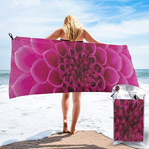 LLOOP Close-Up Pétalos de flores Florets Naturaleza Belleza Fragancia Botánica Bloom Fresh Picture Print Baño Piscina Yoga Pilates Picnic Manta Toallas de Playa 80 x 160 cm