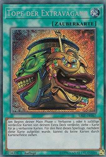 SAST-DE067 - Topf der Extravaganz - Secret Rare - Yu-Gi-Oh - Deutsch - 1. Auflage
