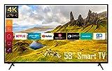 Telefunken XU58K521 58 Zoll Fernseher (Smart TV inkl. Prime Video/Netflix/YouTube, 4K UHD, HDR, HD+)
