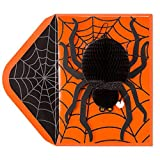 PAPYRUS Halloween Cards Honeycomb Spider, 1 EA