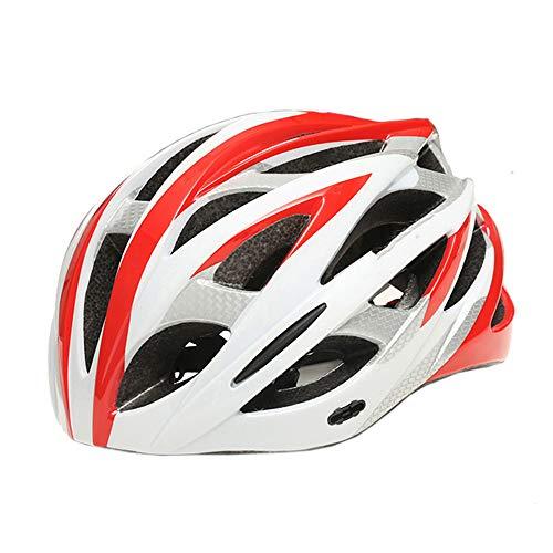 DETZH Ciclismo Casco Integrado Casco de Ciclismo de montaña Ajustable para Hombres...