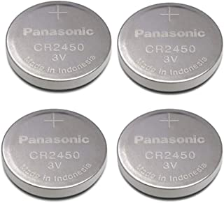 Panasonic Cr2450 Cr 2450 Lithium 3v Battery [ Pack of 4 ]