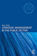 Strategic Management in the Public Sector (Routledge Masters in Public Management) (English Edition)