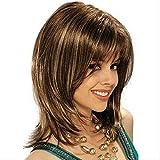 Wig Fashion Personality Chemical Fiber Head Set High Temperature Silk Shoulder Wig