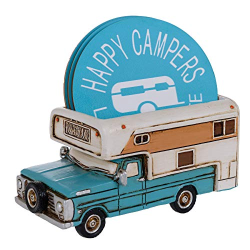 Happy Camper Coaster Set
