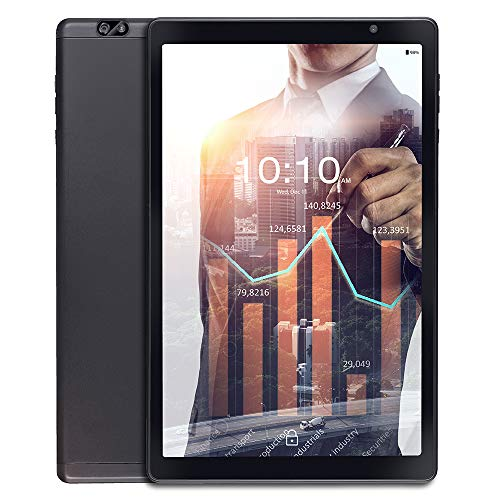 iBall iTAB BizniZ Tablet (10.1 inch, 32GB, Wi-Fi + 4G LTE + Voice Calling | Expandable Memory Up to 256GB), Coal Black