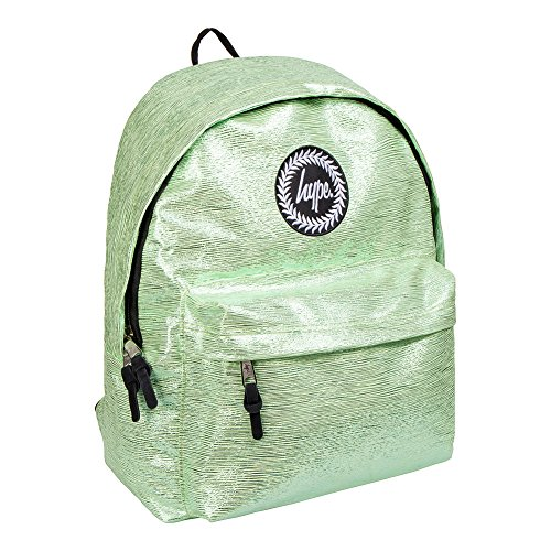 Hype Rucksack Slime Folie, Grün – Ideale Schulranzen – Rucksack für Jungen und Mädchen