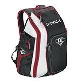 Louisville Slugger Prime Stick Pack Baseball/Softball Bag - Black/Scarlet