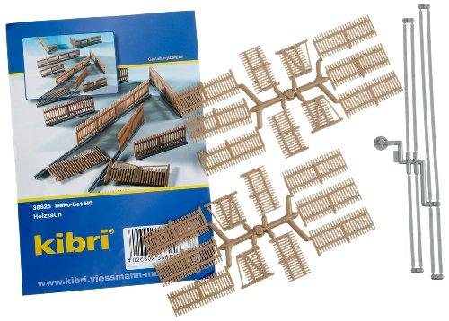 Kibri 38625 - Ausgestaltungs-Set Holzzaun H0
