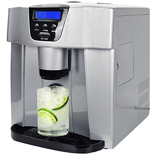 Máquina para hacer cubitos de hielo digital con dispensador
