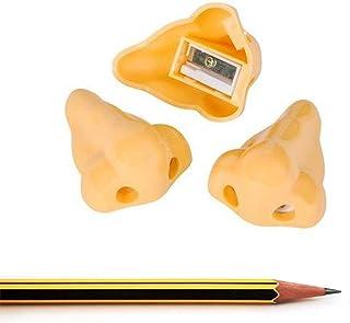 Pencil Sharpeners Double Orifice Double Pole Piece Cutter Knife Promotional Originality Gift Human Nose Pencil Sharpener Shape Pens, Pencils & Writing Supplies