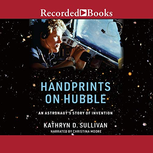 Handprints on Hubble cover art