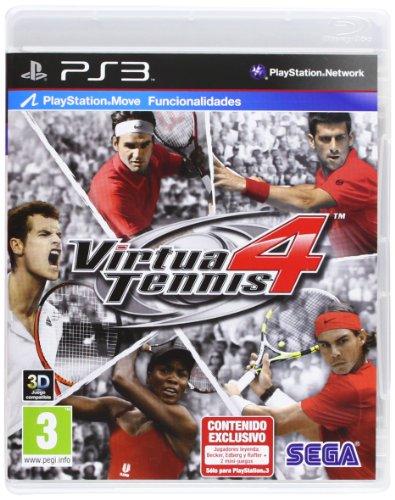 Virtua Tennis 4 Con Raqueta