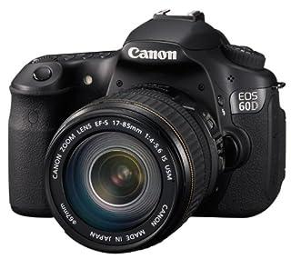 Canon EOS 60D SLR-Digitalkamera (18 Megapixel, 7,7 cm (3 Zoll) Live-View, Full-HD Movie, bildstabilisiert) Kit inkl. EF-S 18-135 IS Objektiv schwarz (B0040X44W8) | Amazon price tracker / tracking, Amazon price history charts, Amazon price watches, Amazon price drop alerts