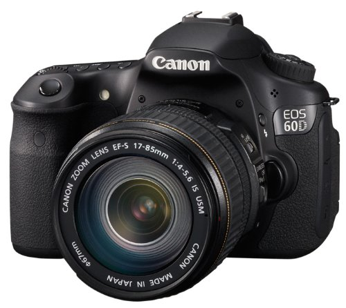 Canon EOS 60D SLR-Digitalkamera (18 Megapixel, 7,7 cm (3 Zoll) Live-View, Full-HD Movie, bildstabilisiert) Kit inkl. EF-S 18-135 IS Objektiv schwarz