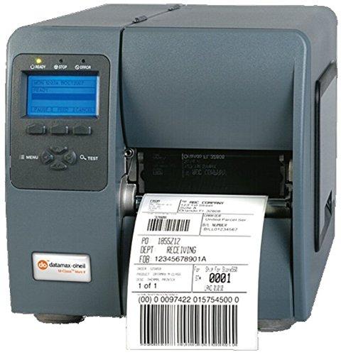 Datamax O'Neil M-Class M-4210 Impresora de Etiquetas Térmica Directa 203 - Impresora de Etiquetas (Térmica Directa, 254 mm/s, Negro, Gris, Metal, 16 MB)